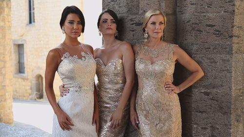 6ce9d1f3d517 Katherine Kelly Lang e Cosima Coppola si raccontano nel dietro le quinte  dello shooting di Impero Couture