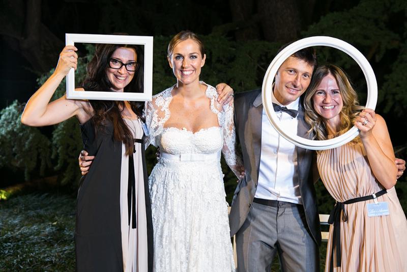 Le due wedding planner di Como in Style con gli sposi fd1e59e536d