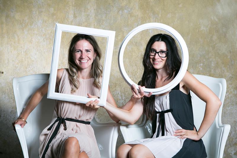 Le wedding planner Elena Pensini e Patrizia Saraga